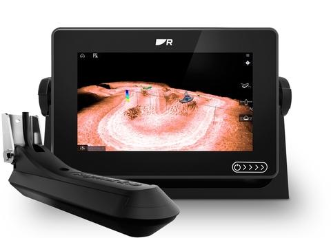 AXIOM+ 7RV  Многофункциональный дисплей  со встроенным RealVision 3D, сонар 600 Вт с датчиком RV-100