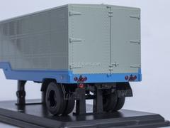 Semitrailer ODAZ-794 blue-gray Start Scale Models (SSM) 1:43