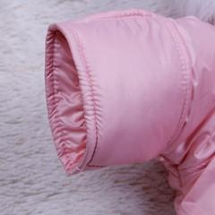 Демисезонный мешок - комбинезон Космонавт (розовый)