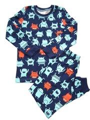 24D-6 пижама детская, темно-синяя