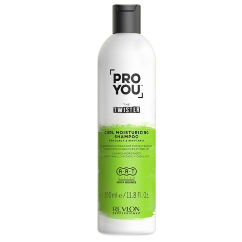 REVLON ProYou Twister: Увлажняющий шампунь для волнистых и кудрявых волос (Curl Moisturizing Shampoo), 350мл/1л