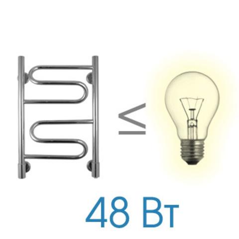 Полотенцесушитель электрический Energy BRAVO 600x400