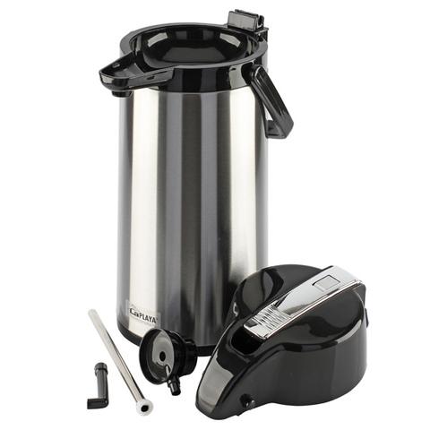 Термос настольный LaPlaya Glass Filler Pump Pot (1,9 литра) стекланная колба с пневмонасосом