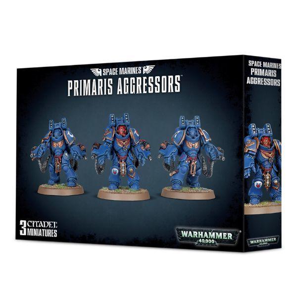 Primaris Aggressors. Коробка