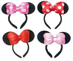 Минни Маус ободок с ушками — Minnie Mouse headbands with ears