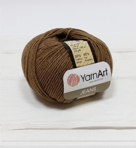 Пряжа YarnArt JEANS - (40-коричневый)