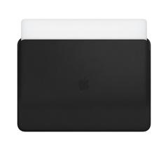 Кожаный чехол Apple Leather Sleeve для MacBook Pro 15 черный цвет
