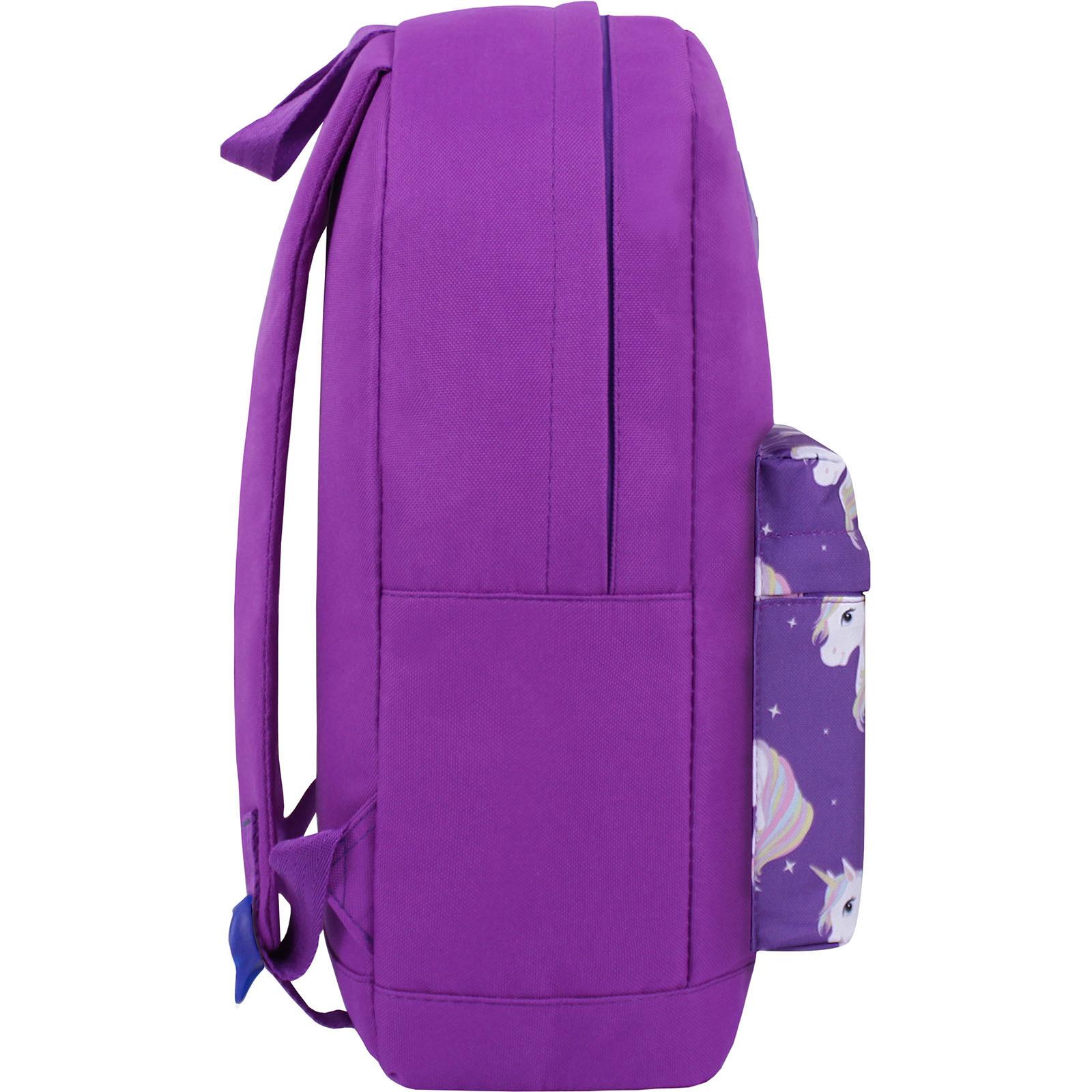 Рюкзак Bagland Молодежный W/R 17 л. 170 Фиолетовый 747 (00533662) фото 2