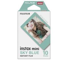 Fotoaparat lenti \ Картридж Fujifilm Instax Mini Sky Blue, 10 lent