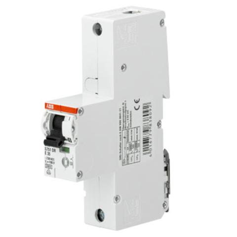 Автоматический выключатель 1-полюсный селективный 32 A, тип E, 25 кA S751DR-E32. ABB. 2CDH781010R0322