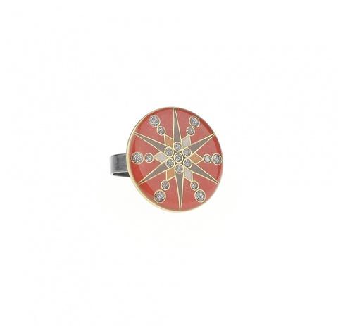 Кольцо Звезда K74505 R