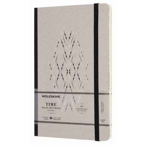 Блокнот Moleskine Limited Edition TIME NOTEBOOKS LCTM31BK Large 130х210мм обложка картон 140стр. линейка черный