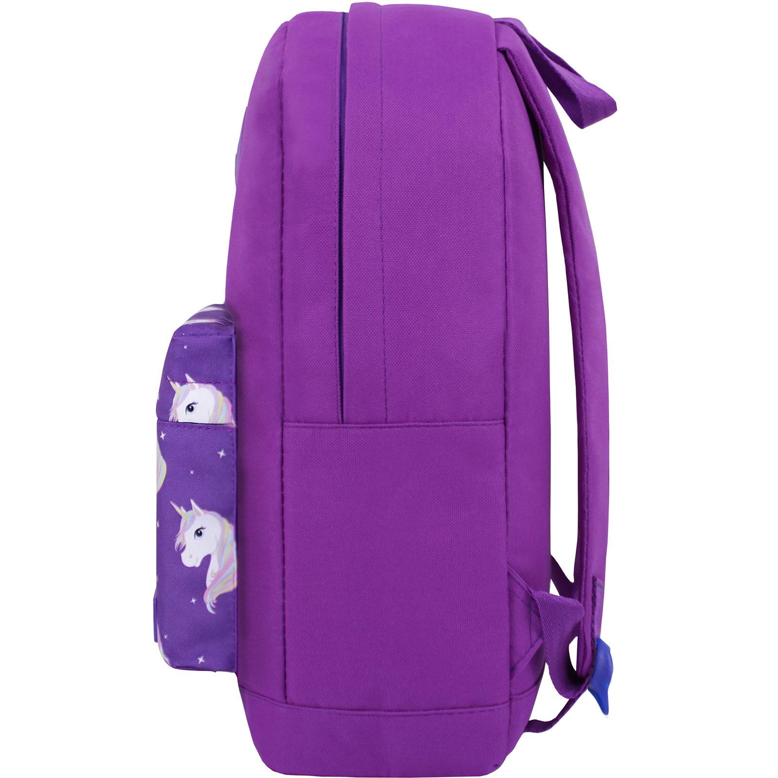 Рюкзак Bagland Молодежный W/R 17 л. 170 Фиолетовый 747 (00533662) фото 3