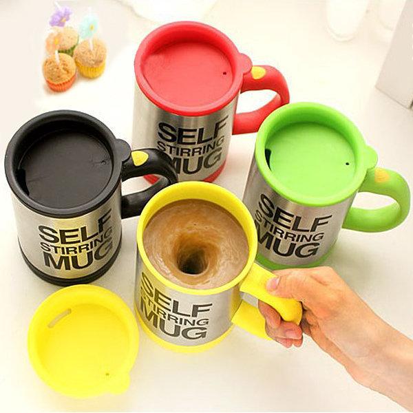 Товары для кухни Кружка мешалка Self Stirring Mug Self_Stirring_Mug.jpg