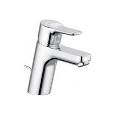 Смеситель для раковины однорычажный c донным клапаном Kludi Pure&Easy 372860565 фото