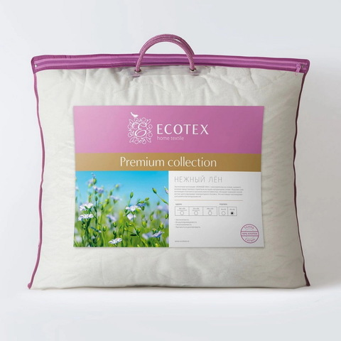 Подушка Ecotex Нежный лен