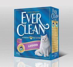 EVER CLEAN Lavander Наполнитель для кошачьего туалета с ароматом Лаванды