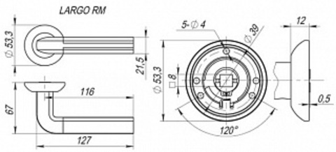 LARGO RM SN/CP-3 Схема