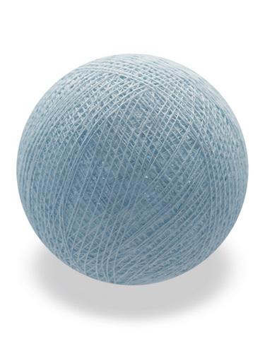 Хлопковый шарик голубой пастель