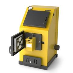 Водогрейный котел Оптимус Газ Электро 20кВт, АРТ, ТЭН 6кВт, желтый