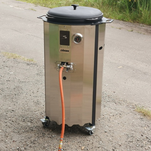 Печь для казана газовая SMAGA GB12 20 кВт 1