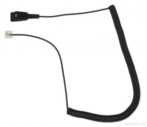 Jabra витой шнур переходник для Siemens Openstage ( 8800-01-94 )