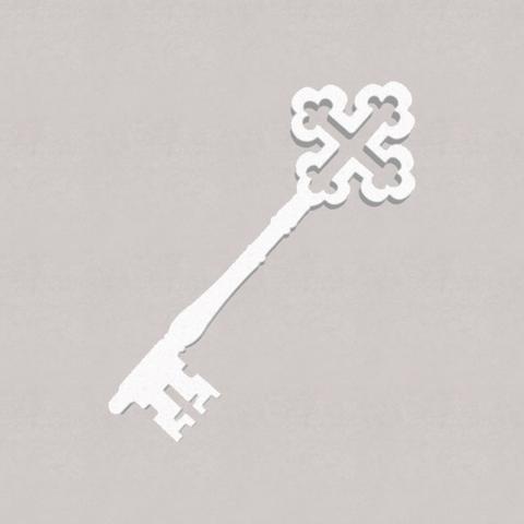 Ключ из пенопласта