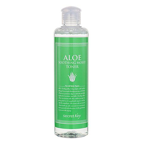 Secret Key Тонер для лица с экстрактом алоэ - Aloe soothing moist toner, 248мл