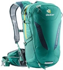 Deuter Compact Exp 12 Alpinegreen-Midnight - рюкзак велосипедный