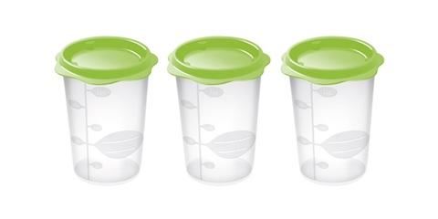 Набор контейнеров для продуктов детского питания Tescoma BAMBINI, 3 шт, 250 мл
