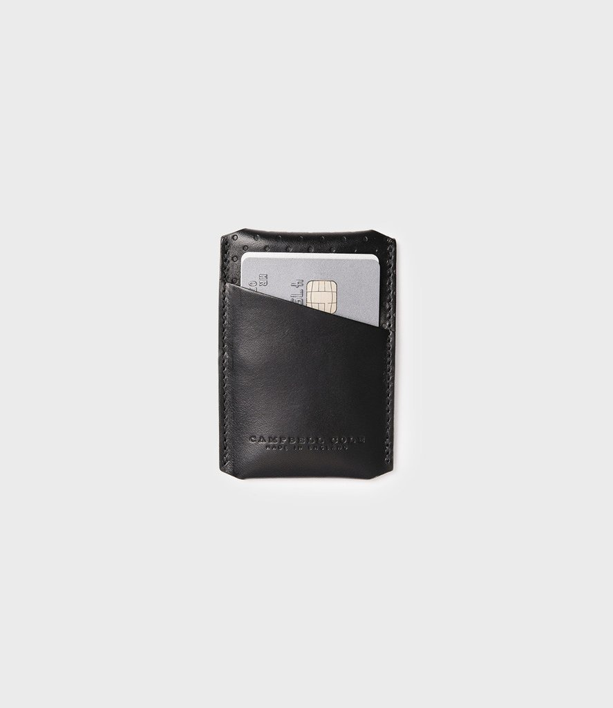 Campbell Cole Simple Card Holder Black