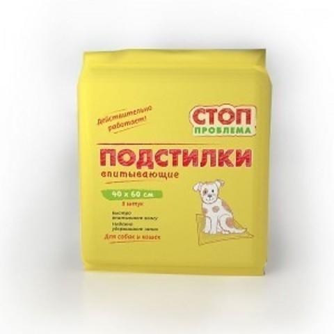 Пеленка СТОП-ПРОБЛЕМА 40*60 см 8 шт