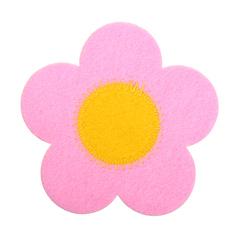 Подставка «Цветочек» фетровая 11х11 см
