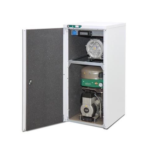 DUO компрессор с аспиратором (1 установка) Ekom