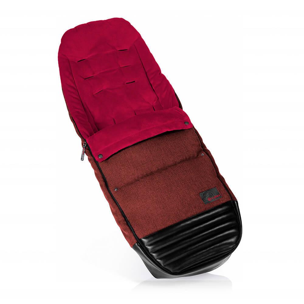 Конверт для коляски Cybex Теплый конверт в коляску Cybex Priam Footmuff Mars Red 516430014.jpg