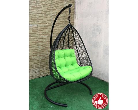 Подвесное кресло Сакала черное
