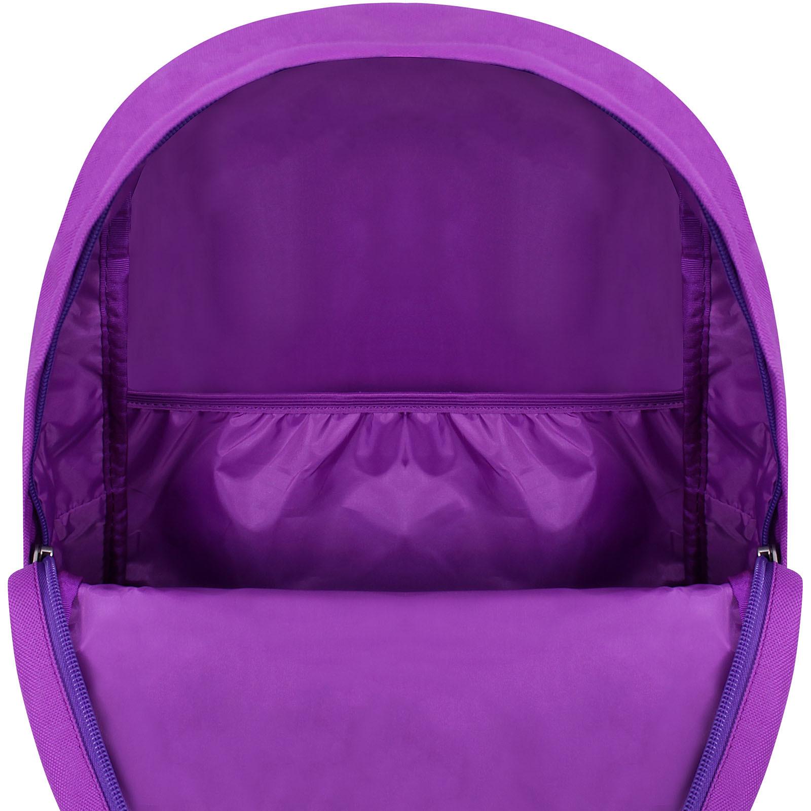 Рюкзак Bagland Молодежный W/R 17 л. 170 Фиолетовый 747 (00533662) фото 5