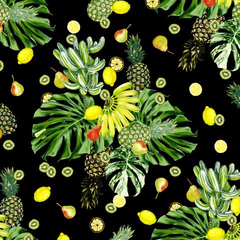 монстера и фрукты_01