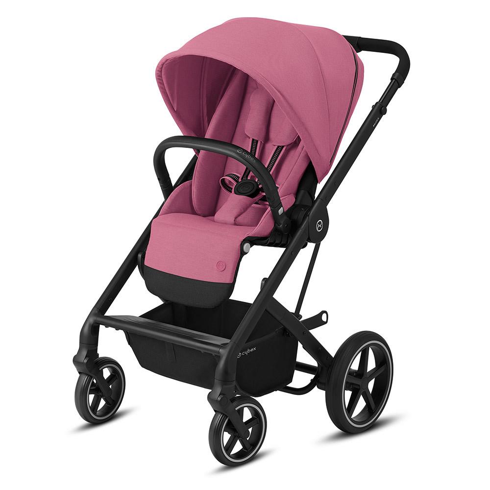 Cybex Balios S прогулочная Прогулочная коляска Cybex Balios S Lux BLK Magnolia Pink 10418_1_106-Balios-S-Lux-black-Frame-Design-Magnolia-Pink.jpg