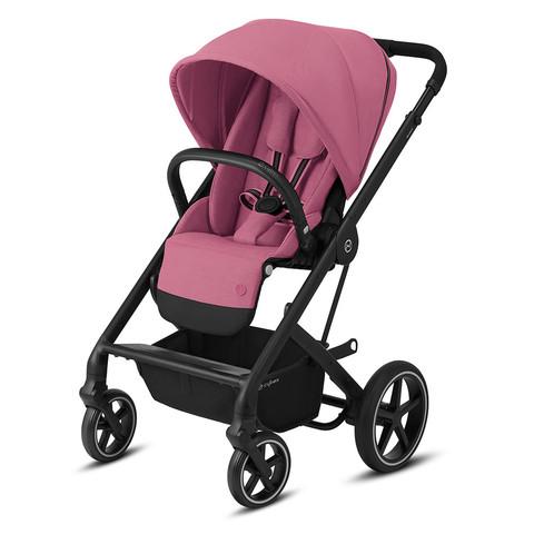 Прогулочная коляска Cybex Balios S Lux BLK Magnolia Pink
