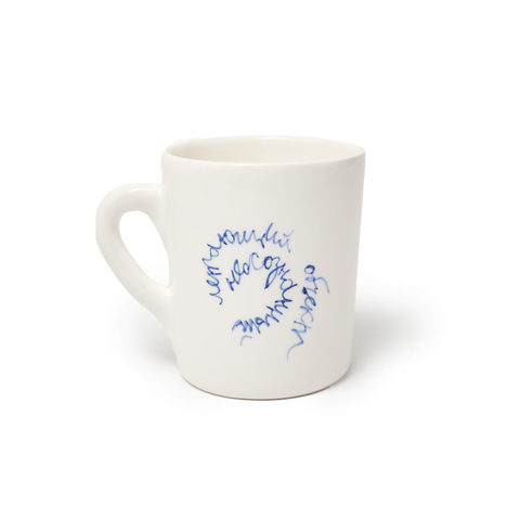 Чашка керамическая «Неосознанный объект» | Антон тут рядом