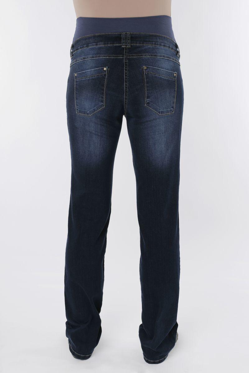 Фото джинсы для беременных MAMA`S FANTASY, посадка regular, плотная зимняя ткань, высокая вставка от магазина СкороМама, синий, размеры.