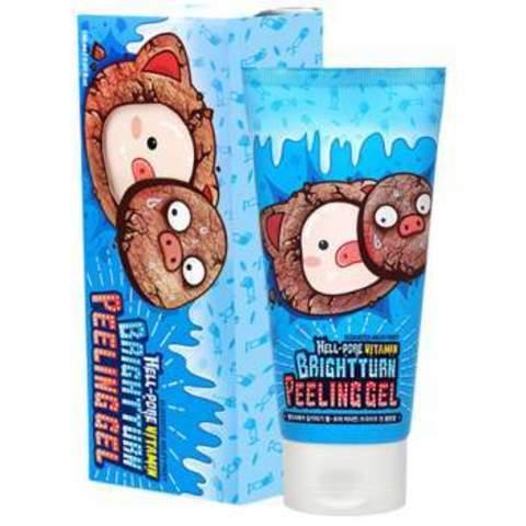 Витаминная Пилинг-Скатка ELIZAVECCA Hell Pore Vitamin Brightturn Peeling Gel