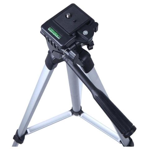 Штатив тренога Tripod 330A с креплением телефона, видеокамеры, фотоаппарата