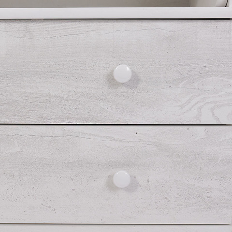 Комод Балу 800/4 лдсп белый