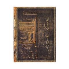 Embellished Manuscripts / Tesla, Sketch of a Turbine /