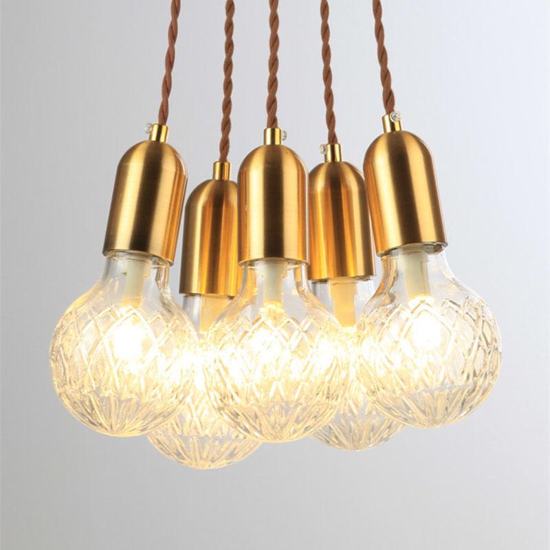 Подвесной светильник Crystal Bulb by Lee Broom (8 подвесов)