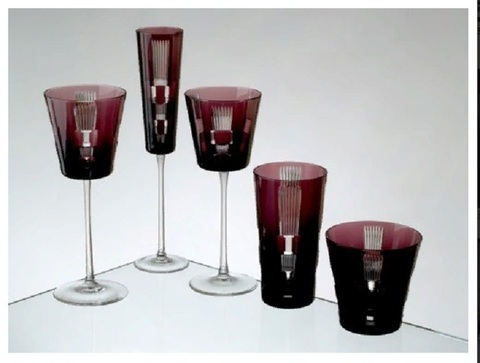 Бокал для вина 210 мл, артикул 1/94842. Серия Retro Amethyst