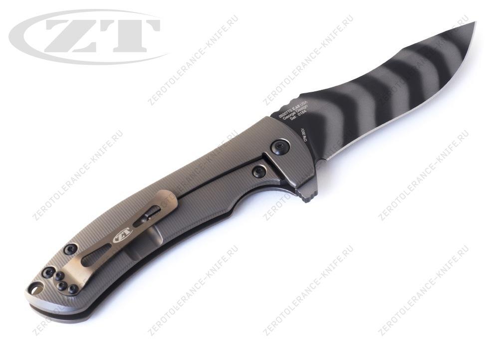 Нож Zero Tolerance 0920TTS Les George - фотография