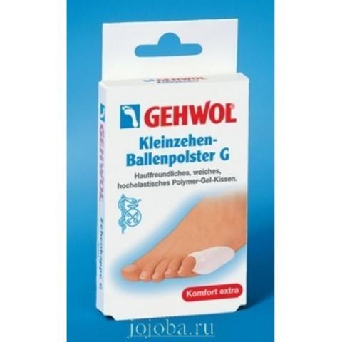 Gehwol (Геволь) - Супинаторы Гель-полимер: Накладка на мизинец G (Kleinzehen-Ballenpolster G), 2шт